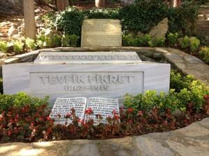 tevfik fikret mezarı