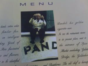 pandeli menü