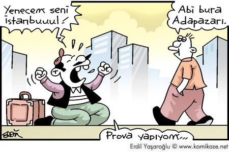 İstanbul karikatür