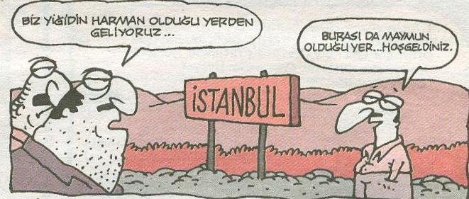 İstanbul karikatürleri