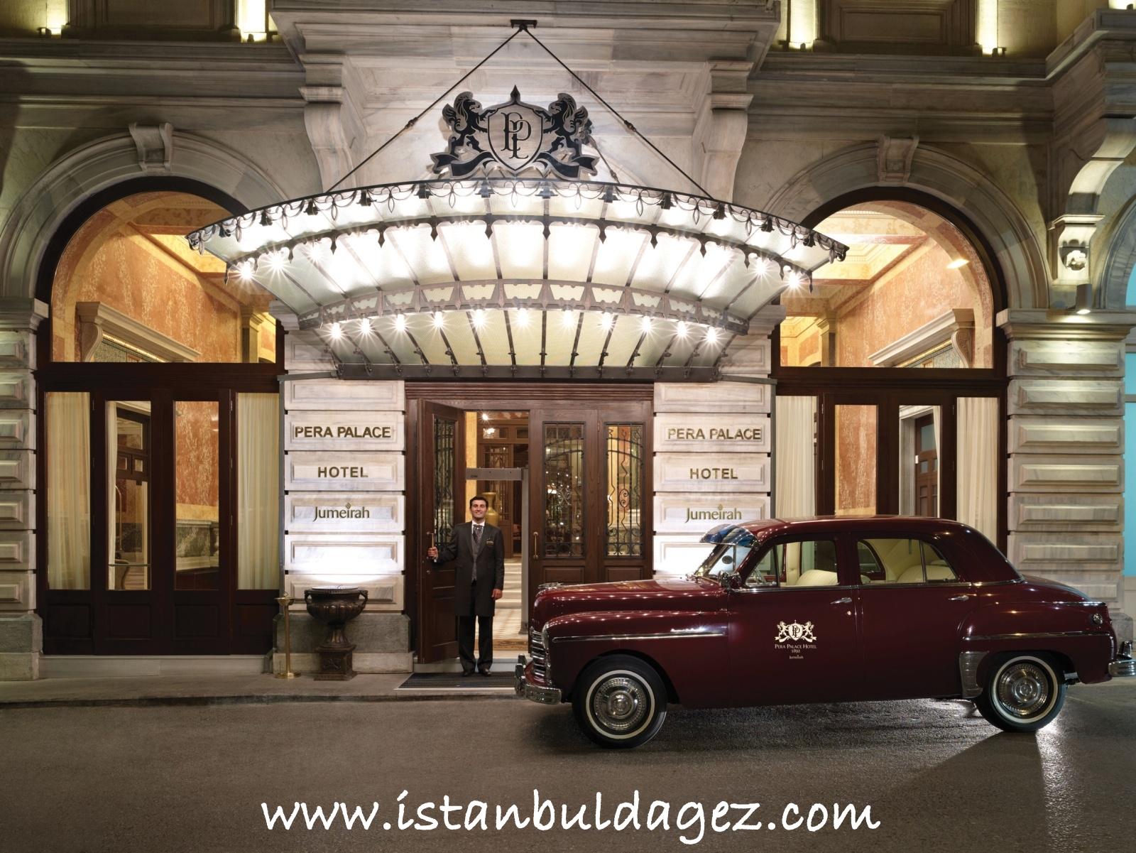 T rkiye 39 nin lk l ks oteli pera palas stanbul 39 da for Taksim pera orient hotel