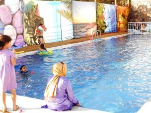 istanbulda bayanlara özel havuz