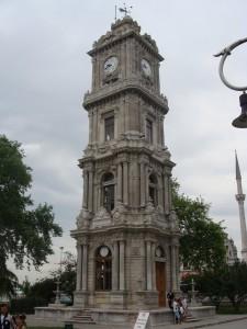 dolmabahçe saat kulesi