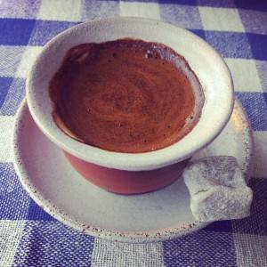 Güveçte Kahve