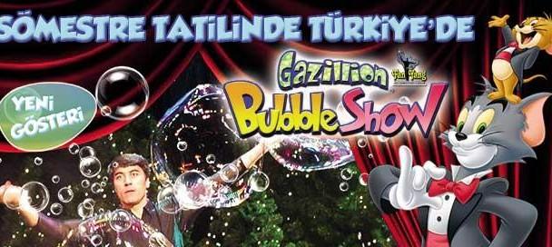 fan yang bubble show